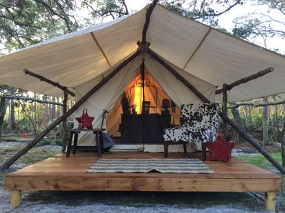 Celebration couple to open 56-acre 'glamping' resort on U.S. 17-92 in Polk