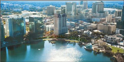 City Centre Tower, along with two other proposed downtown towers is receiving extra density through Orlando's old bonus system. The city recently revised the program.