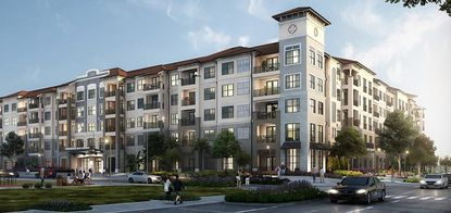 Bainbridge Companies, which completed these apartments last year in Winter Park's Ravaudage development, will build a $100 million sister project two blocks from Universal Studios.