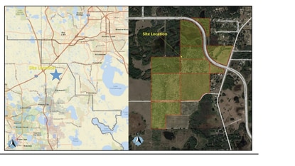 Polk County developers paid $9.3 million for 160 acres along Ernie Caldwell Boulevard in Davenport and are planning over 1,000 new homes, plus parks and retail.