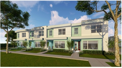 Hannibal Square Community Land Trust will build 24 townhomes, each at 1,667 square feet, on vacant land along East Sixth Street in Apopka. The goal is to provide affordable housing for working families.