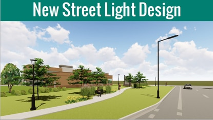 The W192 Development Authority approved a 2020 budget that includes $2.1 million to replace the corridor's purple streetlights with modern, black LED lights.