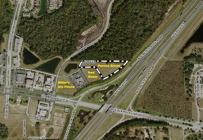 Covelli Enterprises has applied for building permits for a new Panera Bread at ChampionsGate Village, right at the I-4 interchange.