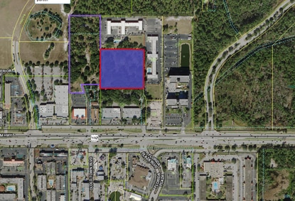 Developer Royal American bought the 4.6-acre parcel across from Kissimmee's Old Town for $1.6 million.
