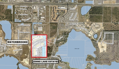 The proposed 36.4-acre industrial park is adjacent to residential neighborhoods to the west and south.