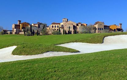 The Bella Collina clubhouse presides over a development that is living the high life now.
