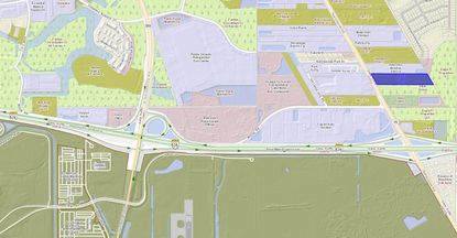 Developer preps land near Orlando airport for off-site parking & solar panel sales