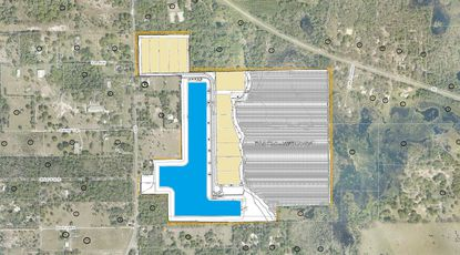 The Geneva Ski Lake preliminary subdivision plans includes 12 single-family lots, ranging between 1.2 acres and 3.2 acres, and a 28-acre water skiing lake.