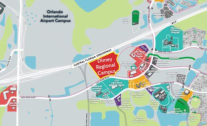 Walt Disney World just bought 60 acres in Lake Nona with plans to build a new office campus.