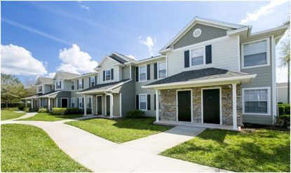 The 184-unit Hatteras Sound affordable housing community at 13000 Island Bay Circle.