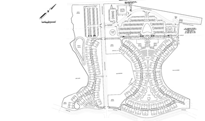 The new site plan for Reunion East shows a 288-unit condominium complex with offsite parking. The 46-acre development would span both sides of Tradition Boulevard, just east of the I-4 overpass, and envelope the community's first water park.
