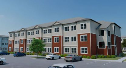 Alliance Residential's conceptual rendering of one of its garden-style apartment communities in St. Cloud in Osceola County.