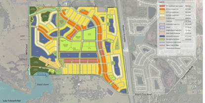 Developer Jeff Fuqua has filed a revised Concept Plan for the 677-acre Fontana Lakes mixed-use community adjacent to the FL Turnpike.