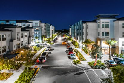 The 361-unit Urbon At Audubon Park apartment community was completed last year behind Fashion Square Mall.