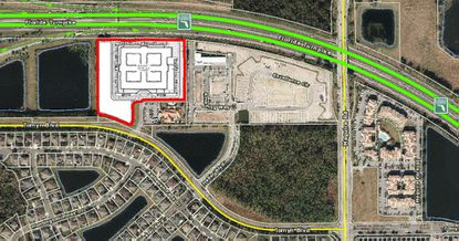 PruittHealth wants to build a 120-bed skilled nursing home at 870 Tomyn Boulevard.