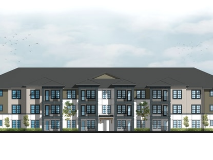Wood Partners file construction plans for luxury apartments on former Longwood dog track