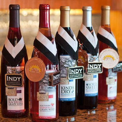 Island Grove Wine Company has won multiple awards for its blueberry and fruit infused wines.