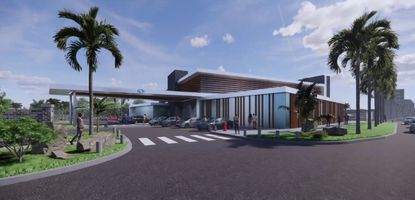 The Magruder Eye Institute wants to develop a new office for its medical practice at the Skycraft Surplus site in Winter Park.