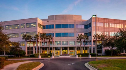 The sale of the 226,548-square-foot office building at 11842 Corporate Blvd. is part of a leaseback deal with German engineering and manufacturing giant Siemens Corporation