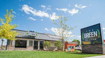 This is a typical example of a marijuana dispensary operated by The Green Solution in Colorado.