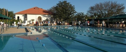 Interlachen Country Club's pool was modernized as part of the club's revitalization.