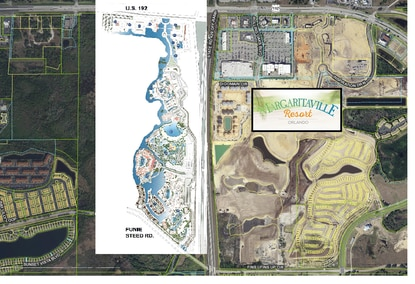 A Canadian real estate developer is planning a 3,000-key luxury resort called Golden Lagoon next to Osceola's Margaritaville Resort.