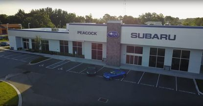 Marketing aerial view of the formerly named Peacock Subaru dealership on S. Orange Blossom Trail, which was sold last week.