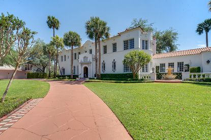 A Mediterranean Revival estate, originally built for coal heiress Grace Phillips Johnson in 1928, has sold for $3.725 million. It is the most expensive sale in the history of College Park.