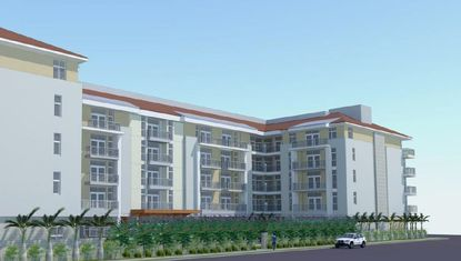 Rendering of the 144-unit Lofts at South Lake apartments in Clermont.