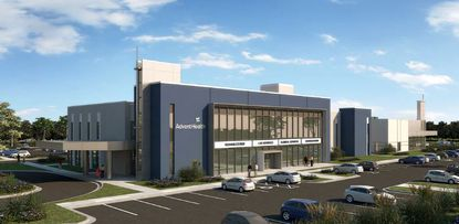 AdventHealth's Lake Mary office looks similar to its planned 36,000-square-foot medical office building on S.R. 50 in Clermont.