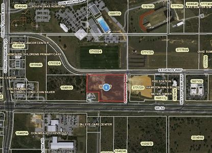Developer Mark Graff sold about 2 acres of vacant commercial land at 1450 Champion's Way for $1.1 million.