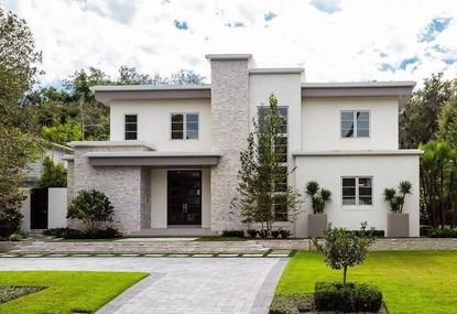A view of the home designed by Phil Kean Design Group in Winter Park, recently acquired by Bob Vander Weide, former CEO of the Orlando Magic.