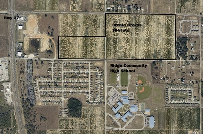 LGI Homes has filed a preliminary plan for a 364-lot subdivision on Davenport Boulevard, just east of U.S. 27 and north of Ridge Community High School.