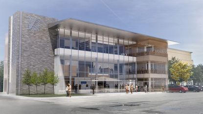A rendering of the proposed new headquarters for the Edyth Bush Charitable Foundation in Winter Park.