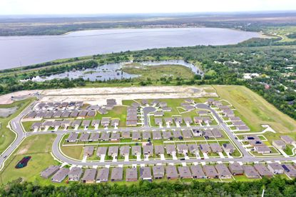 The 195-lot Springview Woods subdivision in DeBary was developed by Henin Group and is currently being built out by D.R. Horton.
