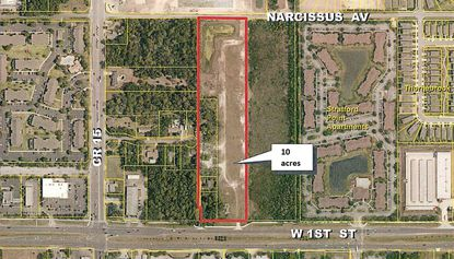 Mixed-use commercial development planned on 10 acres in Sanford