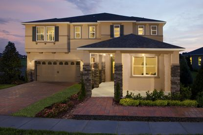 Orchard Park in Winter Garden is one of the many communities KB Home has built in the Orlando area over nearly three decades.