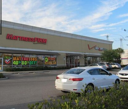 A MattressFirm and Verizon Wireless on E Colonial Drive, along with  the 1.6 acres they sit on, fetched a big profit when their owner sold after buying the site when Central Florida's economy was still wobbly.