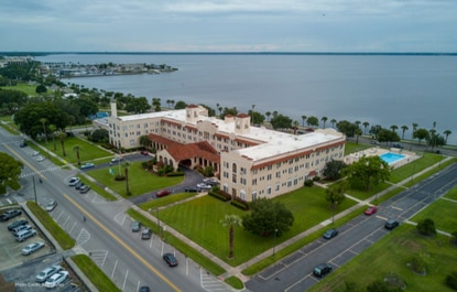 Plans for renovation of the historic Mayfair Inn on Lake Monroe have been submitted to Sanford officials. Work could start before the end of the year.