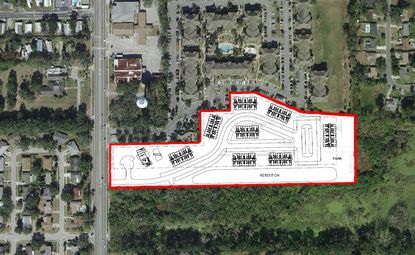 TVC is proposing a 128-unit affordable housing development along North Hiawassee Road in Pine Hills.