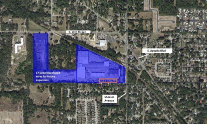 Family owner plans for industrial build-out of 38-acre Apopka commerce park