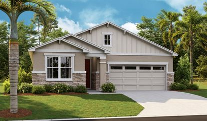 Richmond American Homes will offer eight floorplans at Palisades from its Seasons product line, including the multigeneration Emerald, which has a separate ensuite bedroom with living area and optional kitchenette.