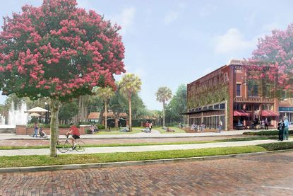 Developer Mark Maciel is planning a building in Winter Garden's downtown that will look like it has been there a long time.