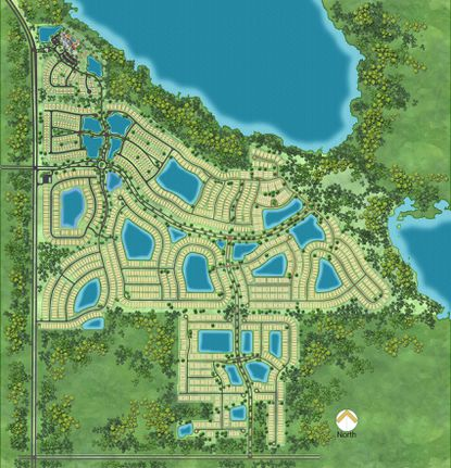 Twin Lakes active adult community will open its sales center in January. Phase 1 is under construction and Jones Homes USA received preliminary approval for phase 2 from Osceola County.