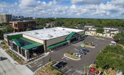 An aerial of the newly-opened Orchard Supply Hardware store at 1111 S. Orlando Ave. in Winter Park.