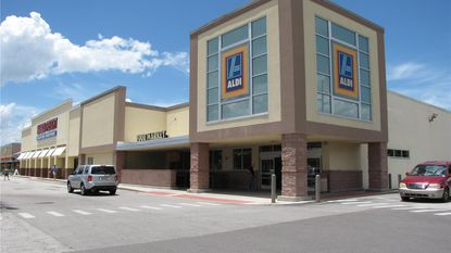 Core IPF is looking for new tenants to compliment the Aldi and Harbor Freight anchors at this Winter Garden shopping center.