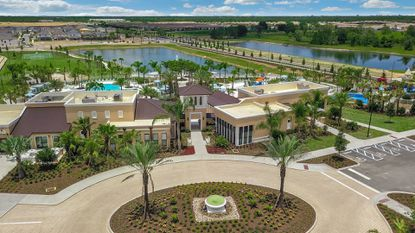 Mattamy Homes has moved its Solara sales center into the new 12,000-square-foot clubhouse. The amenity center will have a full-service restaurant, and fitness center.