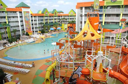 The Nickelodeon Suites Resort in Orlando was rebranded as a Holiday Inn property in 2017, but the flag could be making a comeback at a new kid-friendly resort near Disney.