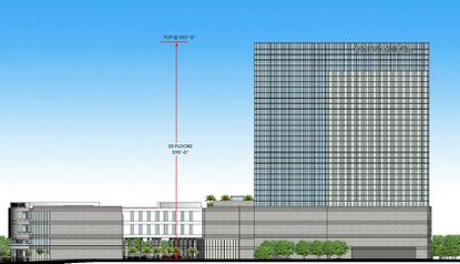 The proposed hotel development is being planned on a 6.5-acre site along Westwood Boulevard, next to a recently completed Tru by Hilton hotel.