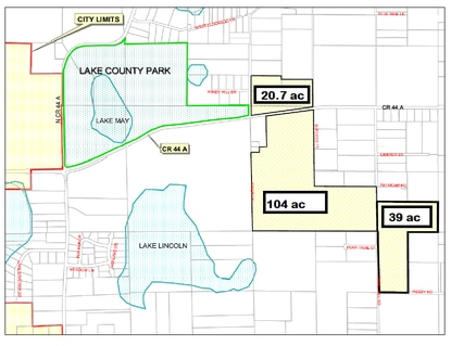 "Eustis and Lake County officials are negotiating an interlocal agreement that would allow the three proposed ""Thrill Hill"" annexations to move forward."